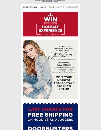 Visit Your Nearest Store To Enter The Ultimate Holiday Experience