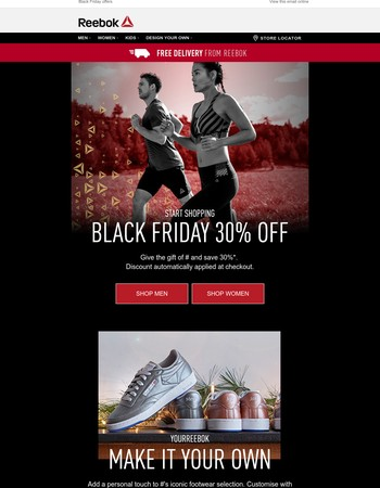 DON'T MISS 30% OFF - BLACK FRIDAY