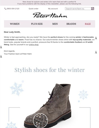 Experience the best shoes for autumn and winter – warm feet guaranteed!
