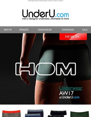 New-in: HOM - underwear, loungewear, swimwear, PLUS New-in GANT, DIESEL, OILER & BOILER
