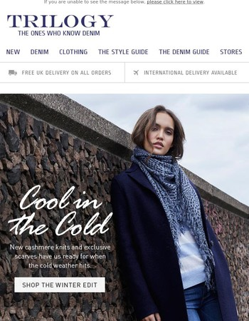 Cool in The Cold | November New In