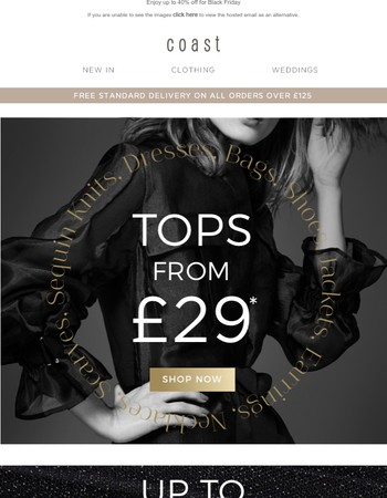 Tops From £29* (Yes, You Read That Right!)