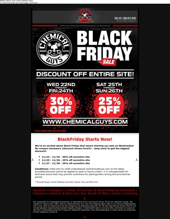Black Friday Starts Now - 30% Off