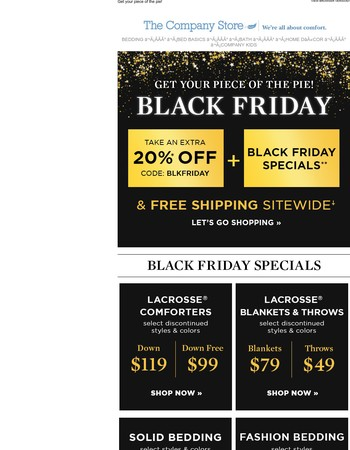 Black Friday Specials You Need to See To Believe!