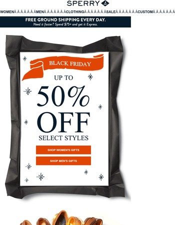 Our Black Friday Offer Is Here! Up to 50% OFF Over 250+ Styles