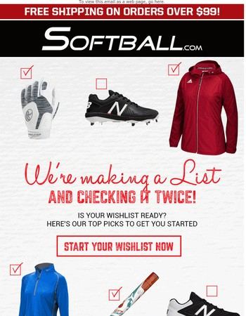 Softball.com Newsletter