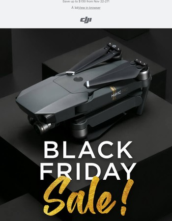 The DJI Black Friday Sale is Live!