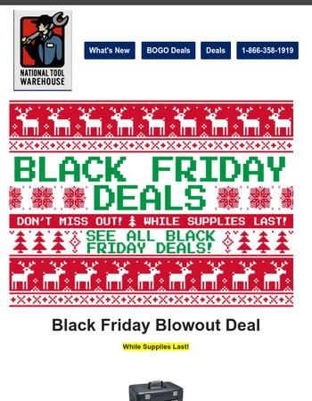Black Friday Starts Early -- Don't Miss Out!