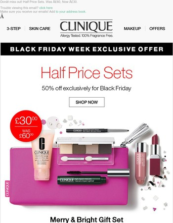 Online Exclusive Preview   50% Off Exclusive Sets