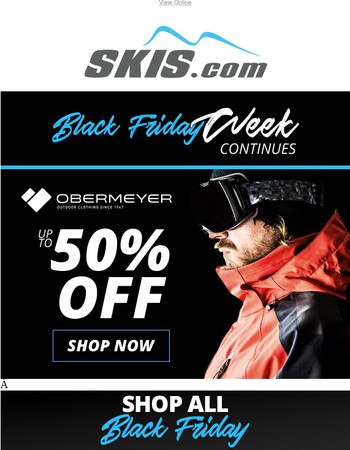 Up To 50% OFF Obermeyer – Don't Miss Savings Like This!