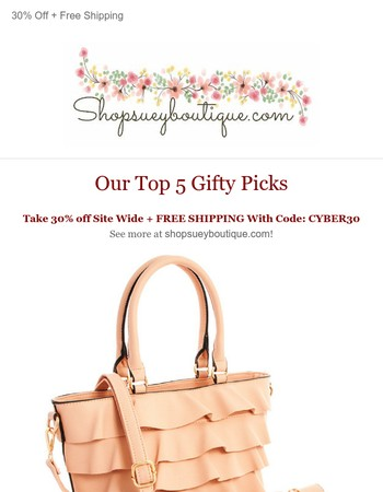 Top 5 Gift Worthy Accessories