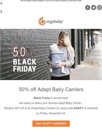 50% off Adapt on Black Friday