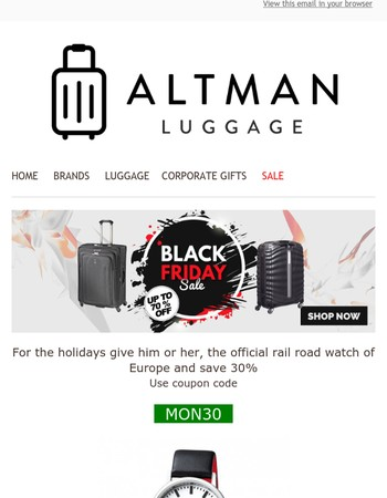 ⚫� Black Friday Sale The Best in Luggage