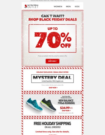 Black Friday Doorbusters l New Mystery Deal
