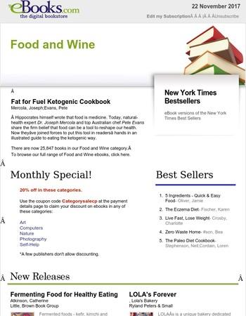 Food and Wine: Fat for Fuel Ketogenic Cookbook : Mercola, Joseph;Evans Pete