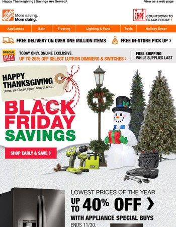 NEW BLACK FRIDAY SAVINGS ★ 1000s of Products Added