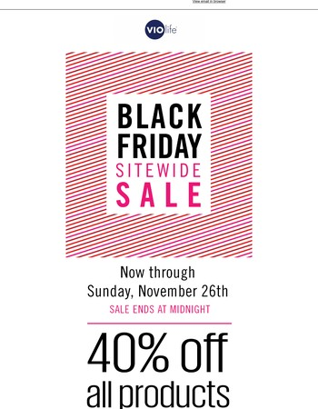 Black Friday - 40% Off Everything! Starting NOW