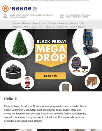 Black Friday Mega Drop - Shop Great December Deals Whilst Stock Lasts