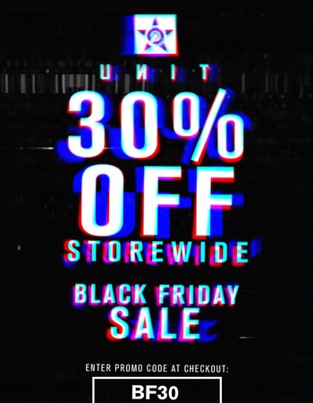 Black Friday Sale - 30% Off Storewide❗