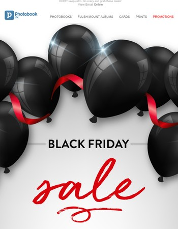 Black Friday Sale - Biggest sale of the year starts now!