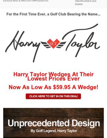 Designer Wedges At Black Friday Prices!