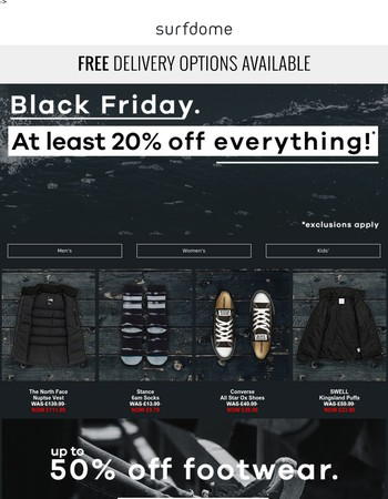 Now at least 20% off EVERYTHING!