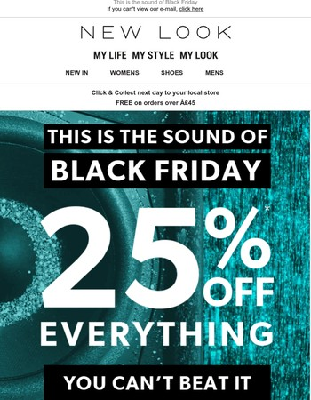 25% off! You can't beat it ????