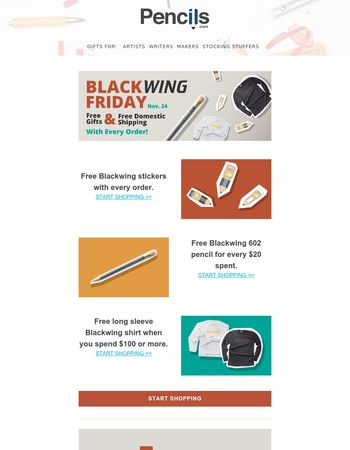 Blackwing Friday is Here