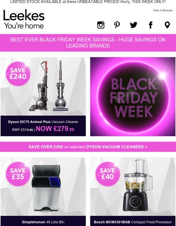 Shop Our BEST EVER Black Friday Offers