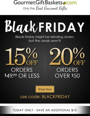 Save up to 20% with Black Friday Savings