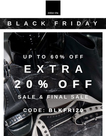 Black Friday Is Seriously Heating Up...