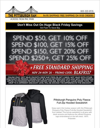 Don't Miss Out On The Ultimate Pittsburgh Black Friday Sale