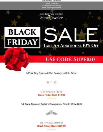 Black Friday Sale Ends Soon