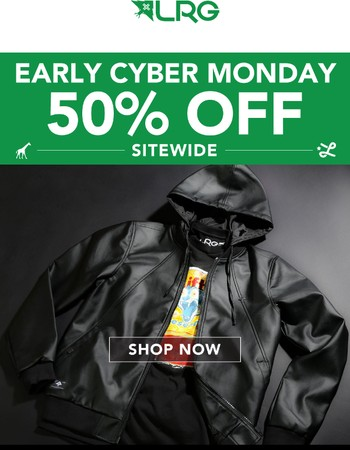 Cyber Monday Starts Now