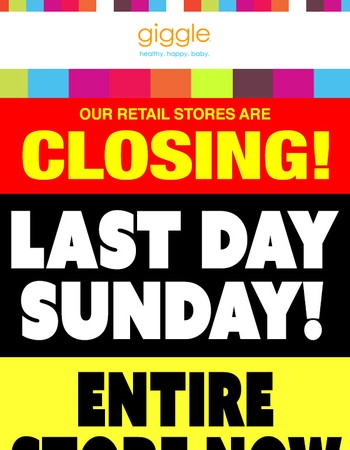 Last Day to Save! Additional Markdowns Taken!