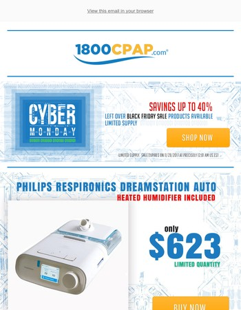 Cyber Monday offers more deals on CPAP supplies ...