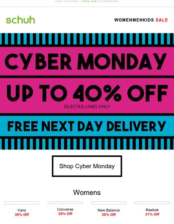 Last chance to grab a bargain in our biggest Cyber Monday event
