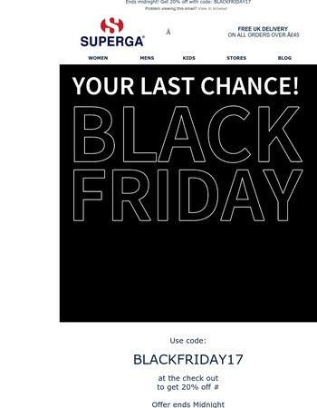Ends Midnight ⏱ Get 20% off!