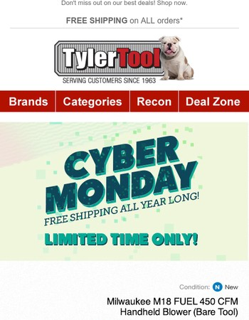 Today Only! Cyber Monday Deals Start NOW