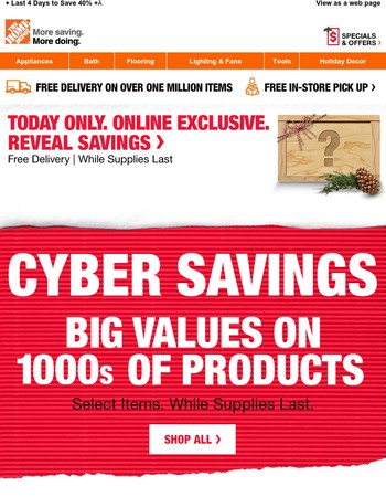 Cyber Monday – Come Back for Seconds (& Thirds)