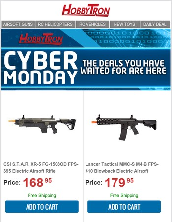 Cyber Monday Deals Ending Now!! | Savings Over 70%