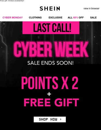 {new message} All 60% off countdown begins