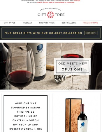 The Story Behind The Bottle: Opus One