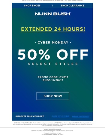 Half price sale ends at midnight!