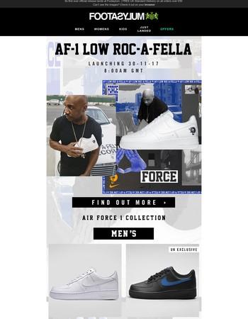 Air Force 1 Roc-A-Fella. Tomorrow 8AM.