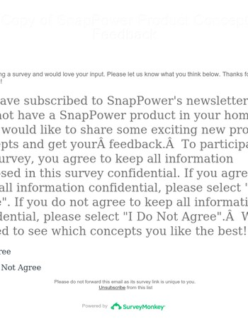SnapPower would love your opinion