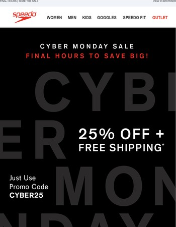 Sale Ends TONIGHT! 25% OFF + Free Shipping