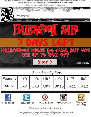Don't Miss Our Massive Sale - 3 Days Left