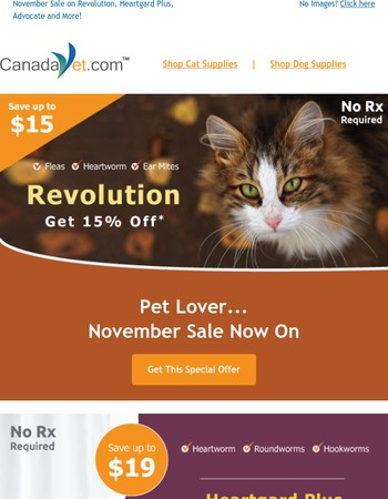 Prepare Your Pet For Winter — That's Right, Over $36 Off No Rx Required Products