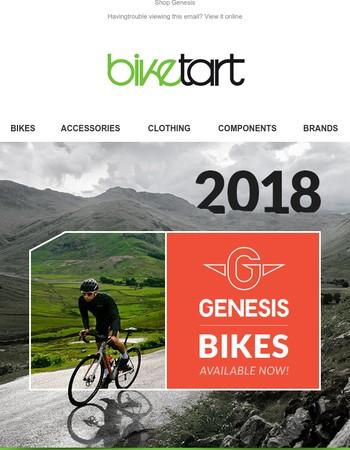 2018 Genesis Bikes now in stock!